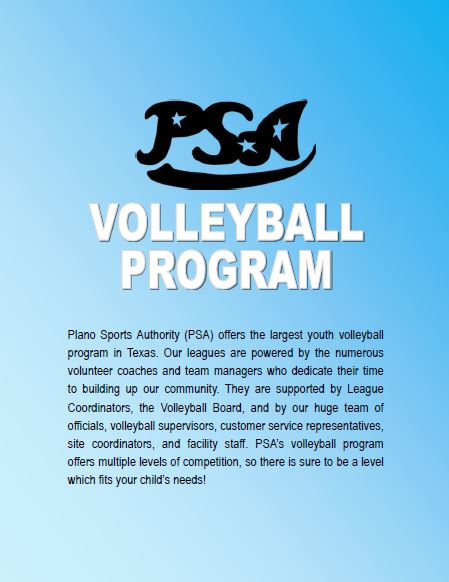 Learn more about the largest youth volleyball program in Texas! Players in 1st-12th grade in Plano, McKinney, Murphy and the surrounding areas come to play in our coed volleyball leagues!